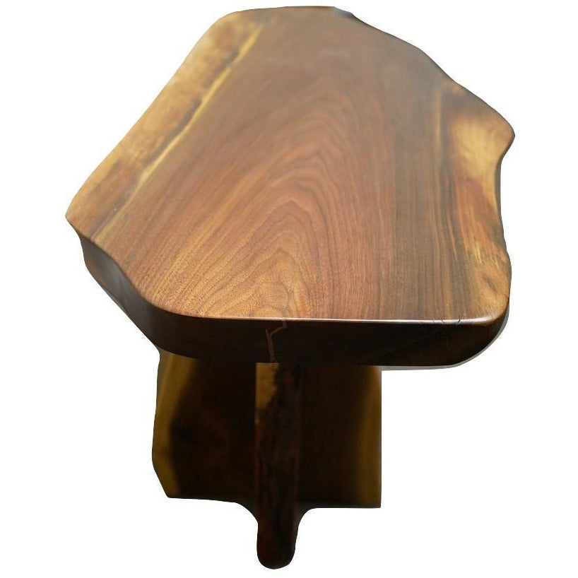 Aviator Black Walnut Side Table (1228)