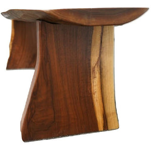 Cultural Invite Black Walnut Bench (1224)