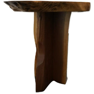Intriguer Black Walnut Side Table (1229)