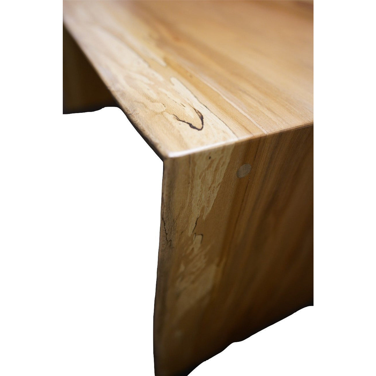 Waterfall Sycamore Side Table (1225)