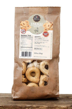 Taralli with Extra Virgin Olive Oil - Bossini