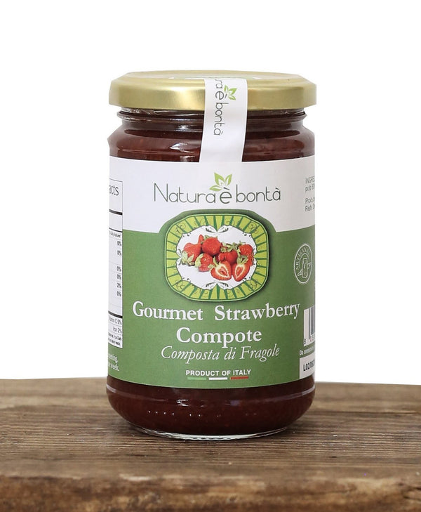 Gourmet Strawberry Compote