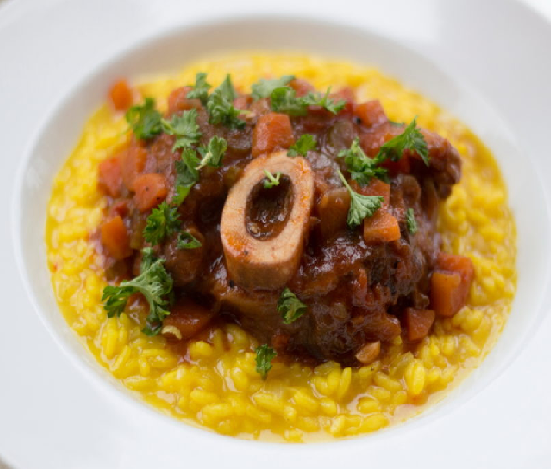 ... One of your Favorites: Ossobuco with Risotto!