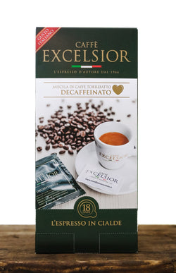 Dispenser 18 pods Decaffeinated Coffee