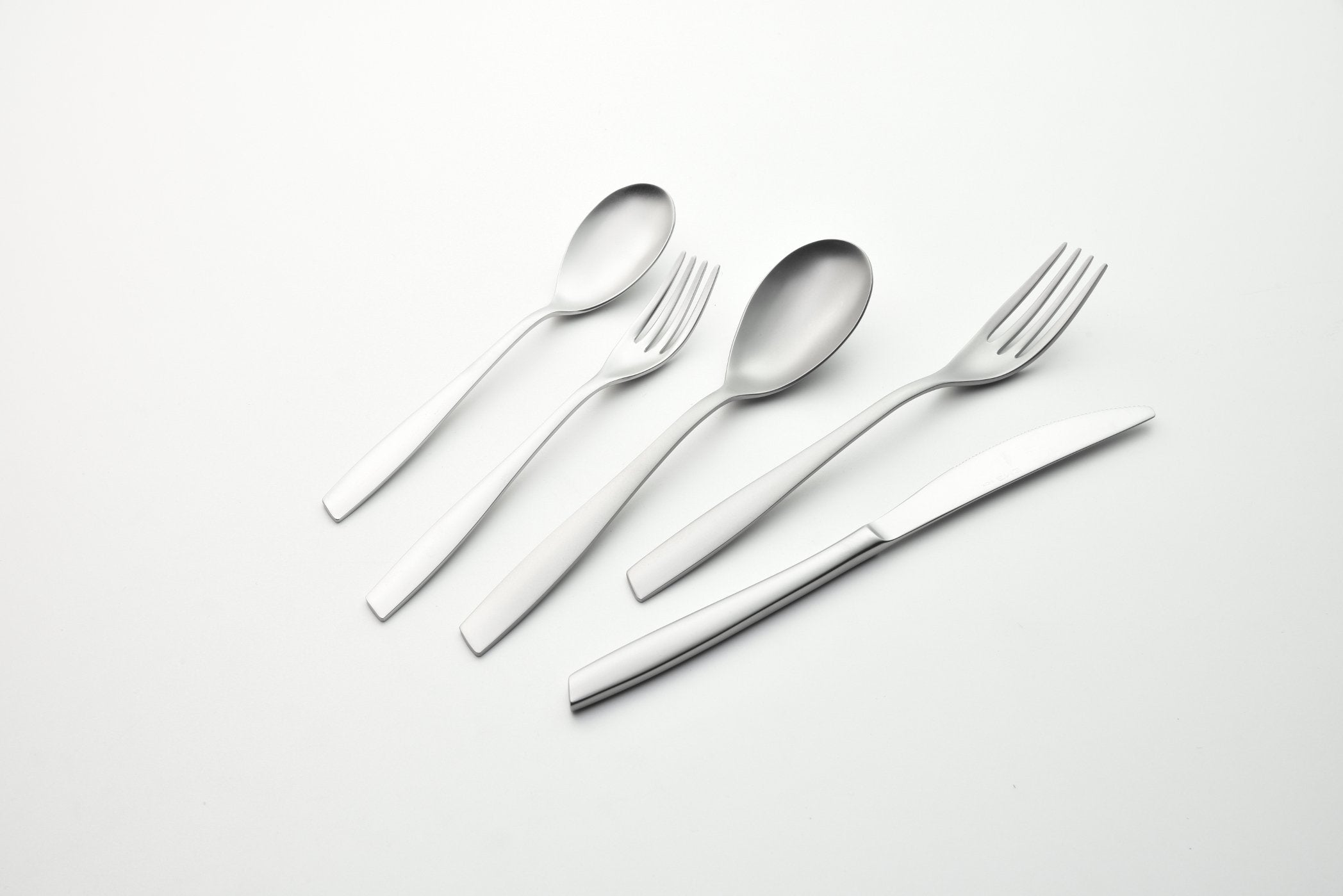 Cutlery Set 5 Pcs Eleven Sand Blasted