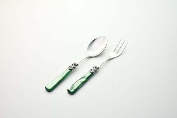 2 Pcs Serving Set Ginevra Green