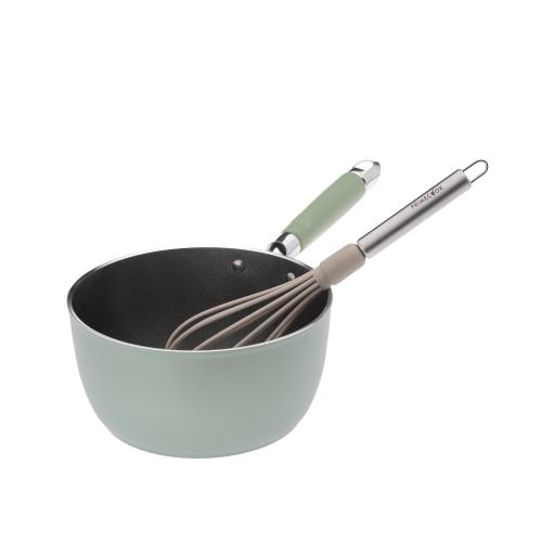 NYLON KITCHEN WHIP WITH STAINLESS STEEL HANDLE