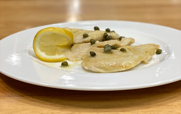 Chicken Scaloppine With Lemon Sauce