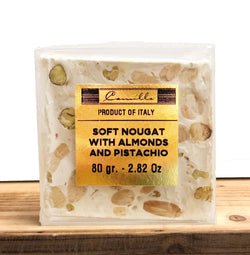 Soft Nougat With Almonds & Pistachio