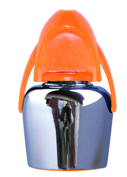Stainless Steel Champagne Stopper Orange