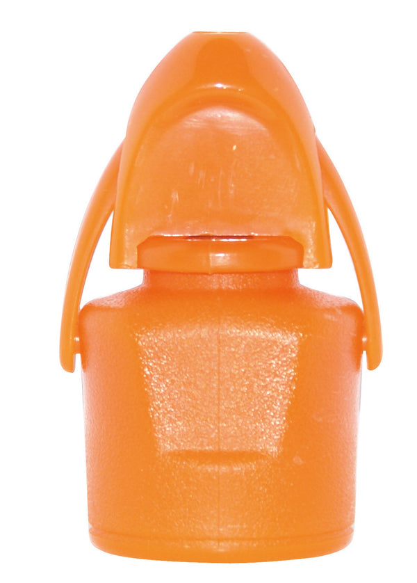 Wine Plastic Stopper Orange
