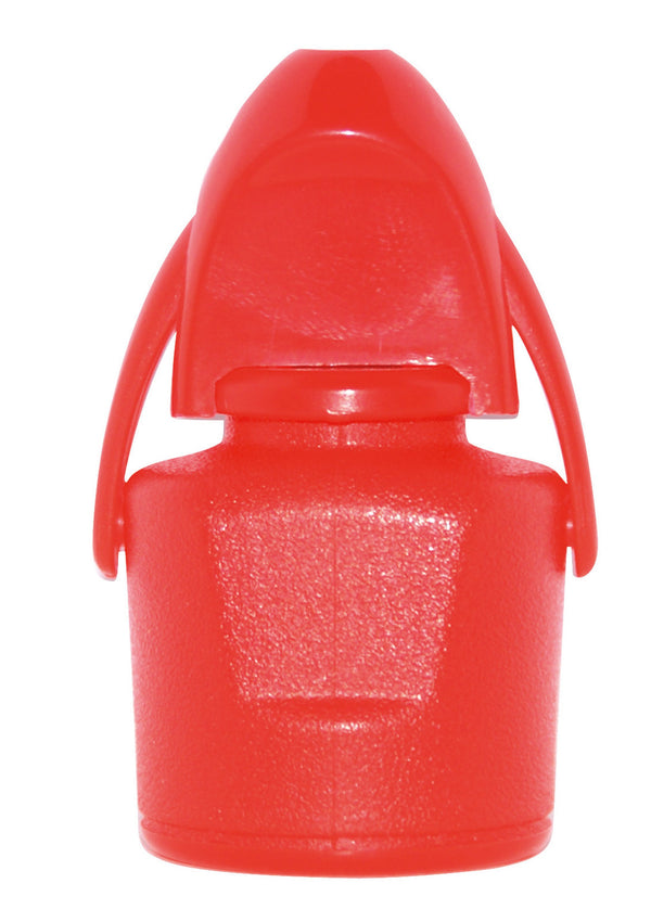 Wine Plastic Stopper Red