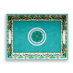 Melamine Handled Serve Tray