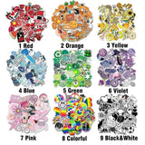 12 Styles All 50 PCS No Repeat