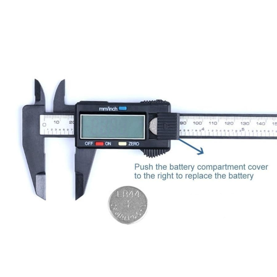 150mm 6inch LCD Digital Ruler Electronic Vernier Calipers