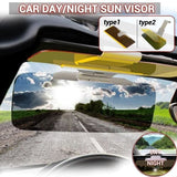 1pc 2 In1 Car Sun Visor Both Day and Night Use Night Vision Anti-Dazzle Anti-Sunlight & Anti-High Beam Car Goggles Universal