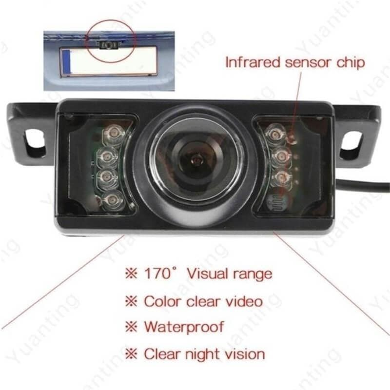 2020 Built-in Wireless Waterproof Night Vision System