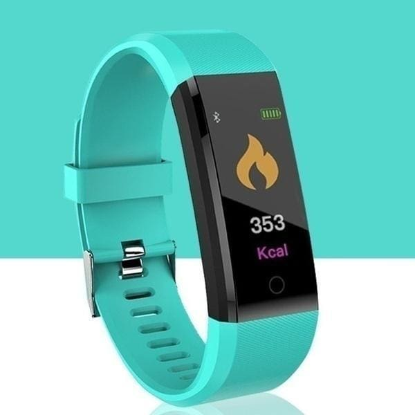 2020 New ! !115PLus Smart Watches Bracelet Heart Rate Blood Pressure Pulse Monitor Fitness Pedometer