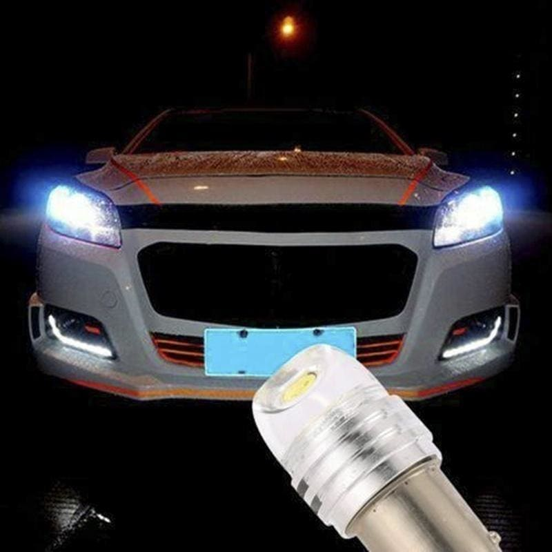 2/4pcs 1157 BAY15D P21/5W Strobe Flash Light Brake Blink Led Tail Reverse Bulb