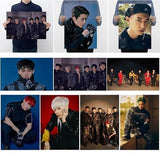 42*29.7Cm Kpop Idol Exo Regular Six Series Album'Obsession'