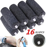 4/8/16 Pcs Coarse Replacement Refill Roller Head For