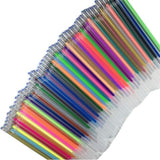 48/36/24 1Set Colorful Shining Refills Neon Glitter Pastel