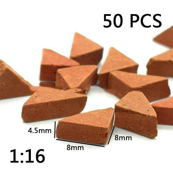 50/70 PCS Miniature DIY Durable Sand Table Diorama Landscape
