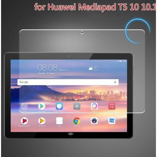 Anti-scratch Tempered Glass Full Screen Protector for Huawei Mediapad T5 10 10.1 Tablet  9h