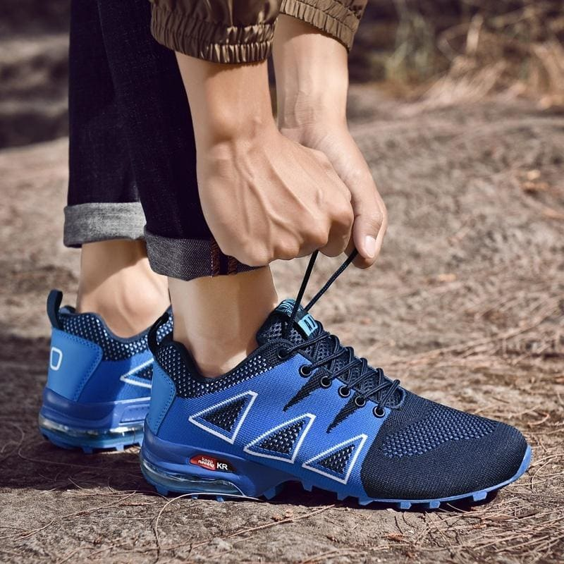 Best Gift!!! Men's Fashion Outdoor Hiking Shoes Breathable Mesh Casual Sports Shoes Size:EU39-46