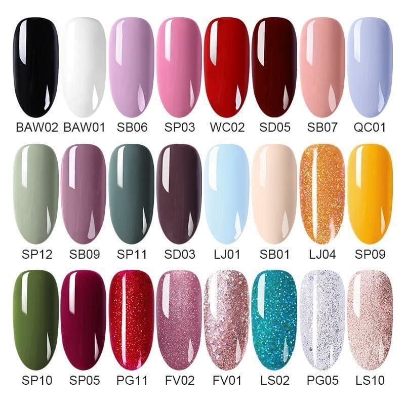 BORN PRETTY Spring Fashion Peel off Nail Polish Fast Dry Green Nail Art Varnish Colors