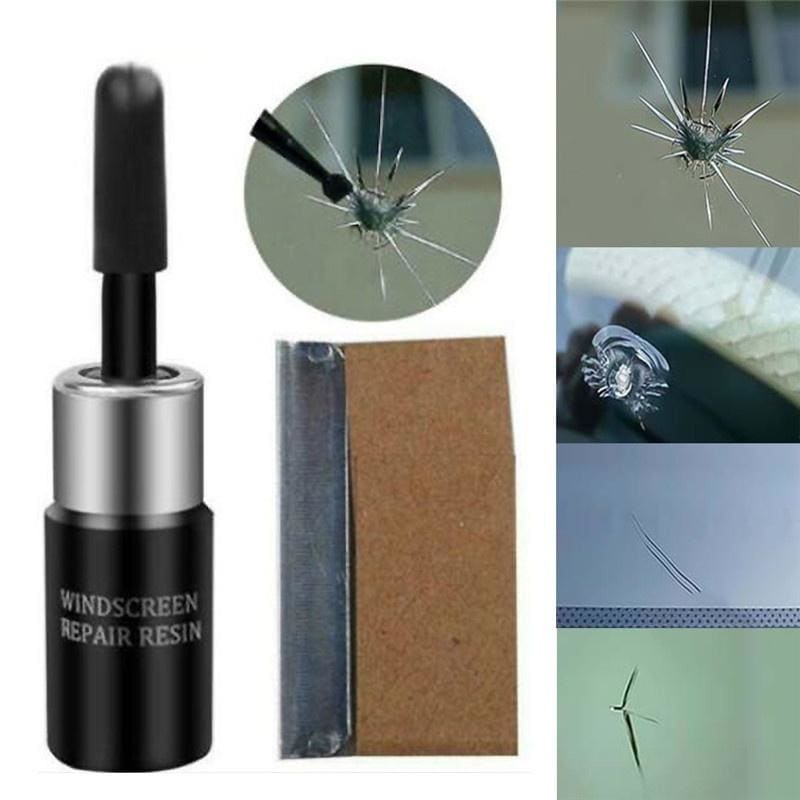 Car Windshield Scratch Crack Restore Resin Window Screen Polishing Tool Repair Kits Window Repair Windscreen Glass Nano Repair Fluid