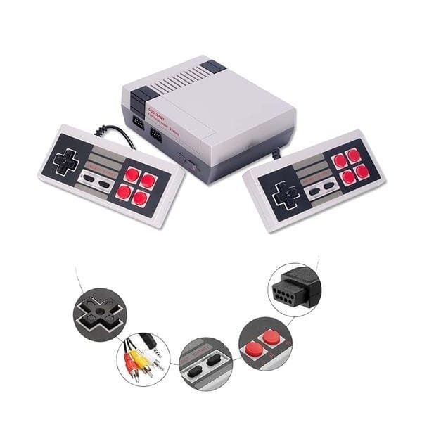 Classic Games 620 In 1 Retro Mini TV Games Childhood Handheld Game Player for NES Family Video Gamepads with AV Cable
