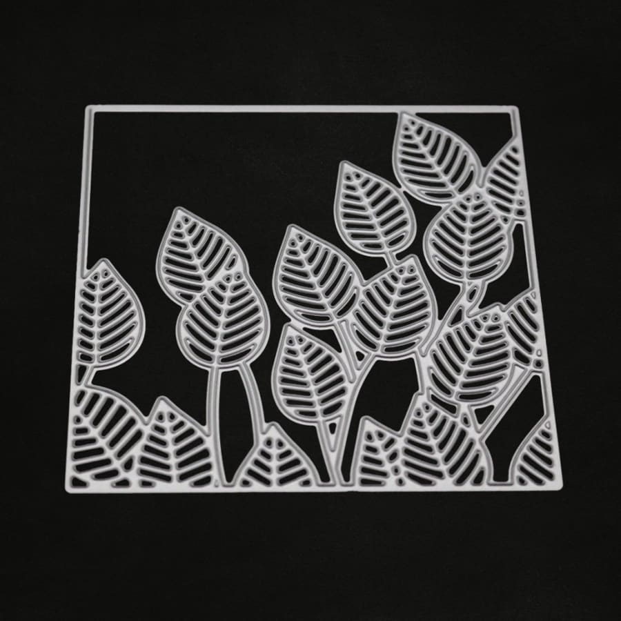Combination Leaves Metal Cutting Dies Stencil Scrapbooking