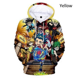 Fashion Casual New Beyblade Burst Evolution 3D Hoodies