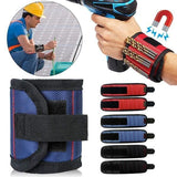 Magnetic Wristband Strong Magnets Portable Storage Bag Electrician Tool Bag Screws Drill Holder Repair Tool Belt