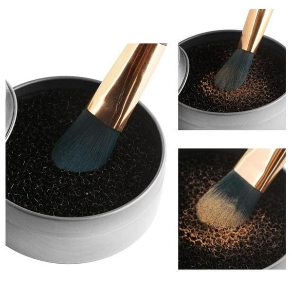 Makeup brushes Cleaner Sponge Powder Remover Quick Color Off