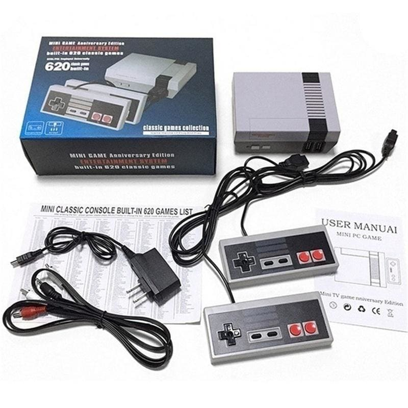 One Controller/Game Console Retro Style Console Built-in 620