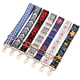 Semfri National Style Colorful Adjustable Bag Strap Shoulder