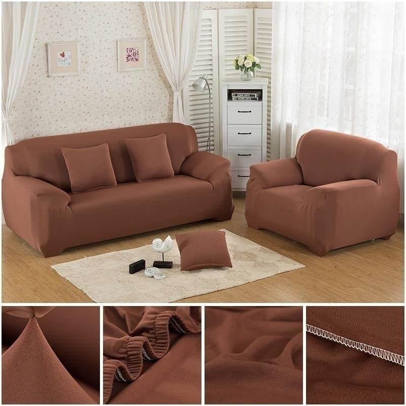 Upgrade Home Living 18 Solid Colors Universal Sofa Cover