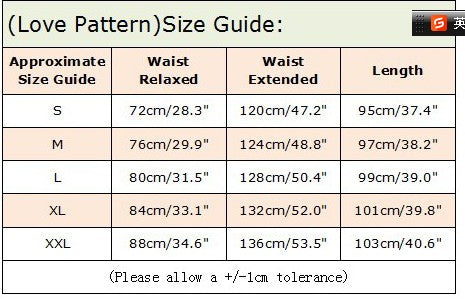 Love_is_Love_Size_Guide