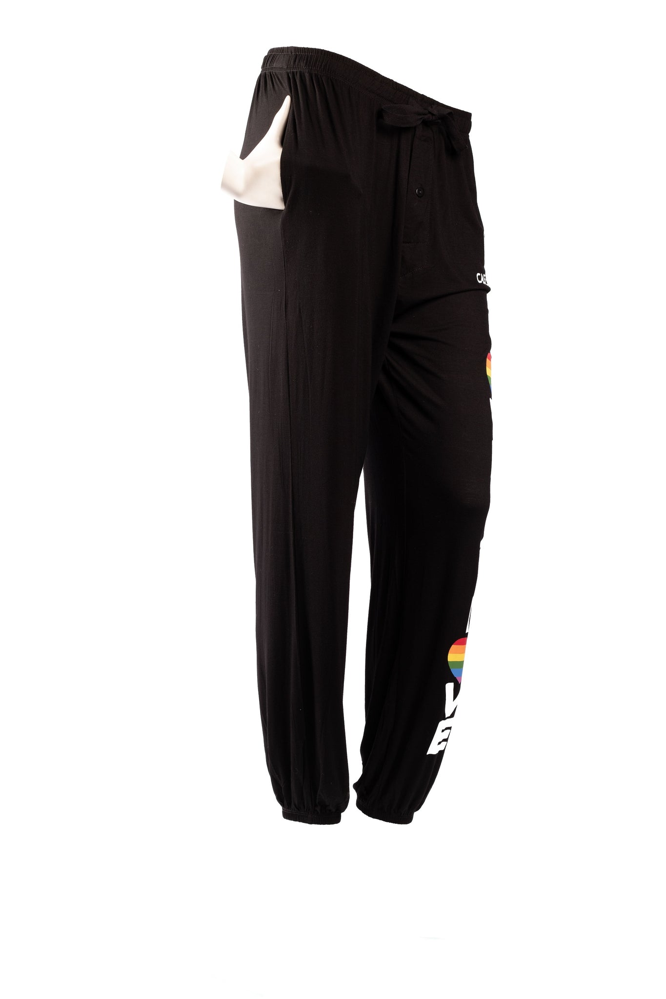 Men & Womens Love is Love Jogger Style Pajama Bottoms with Pockets by Casual Daddy! - Casual Daddy