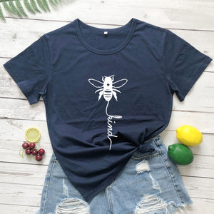 Cotton T Shirt Bee Kind