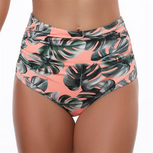 Swimsuit High Waist Bikini Women's Bikinis Mujer Ruffle Push Up Swimwear
