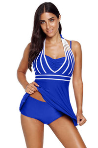 Women Halter plus size Tankini Swimsuits Beach Wear