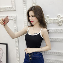 Load image into Gallery viewer, Summer Women Fashion Slim Knitting Striped Camis Tops