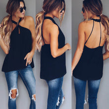 Load image into Gallery viewer, Sexy Women Fashion Summer Vest Top Sleeveless Backless Casual Tank Tops