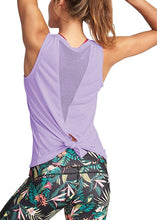 Load image into Gallery viewer, Women Gym Shirt Summer Yoga Tank Top Quick Dry Mesh Sport