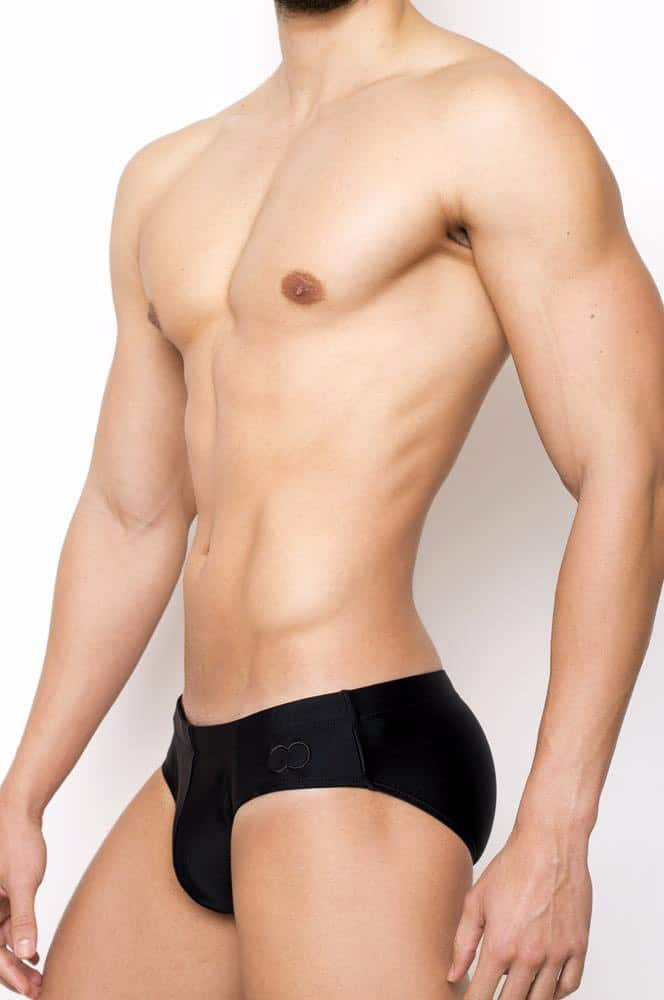 Male Model wearing the 2EROS Core Swim Brief for Men