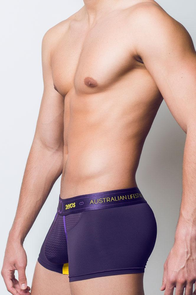 2EROS AKTIV NRG Trunk Underwear - Vivid Purple