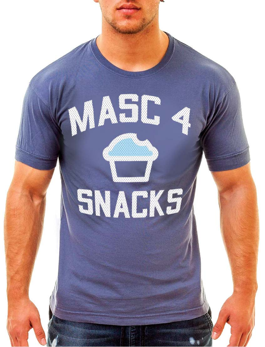 Ajaxx63 Masc4Snacks Men's T-Shirt available at MensUnderwear.io